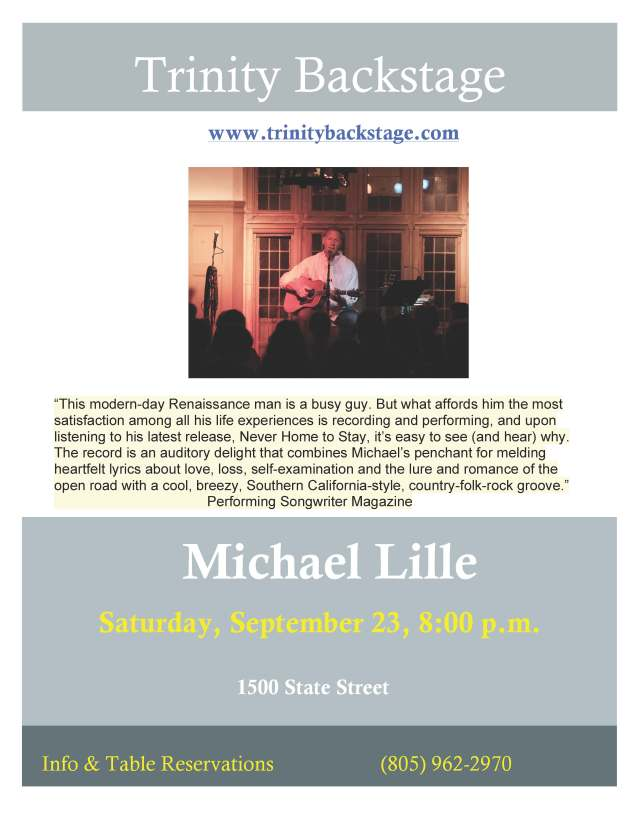 Michael Lille TB poster