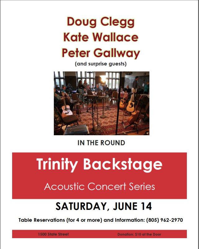Trinity Barckstage June 2014