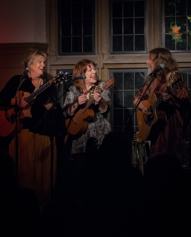 Kate Wallace, Caren Armstrong and Janet Feld